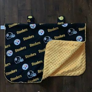 NWOT Steelers Car Seat Cover Canopy